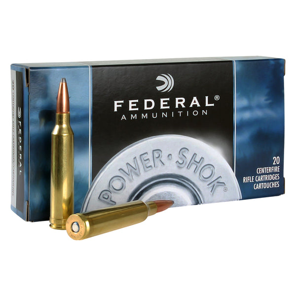 FEDERAL Power-Shok Ammunition 762x39mm Soviet, 123 Gr, Soft Point, 20 Rd/Box (76239B)