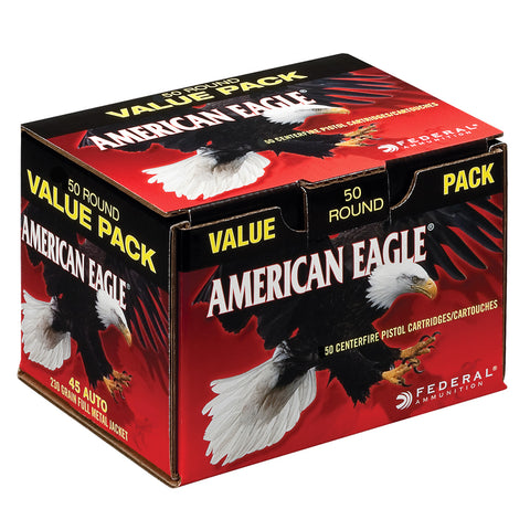 FEDERAL American Eagle 45 ACP 230Gr Full Metal Jacket Ammo (AE45A2000)