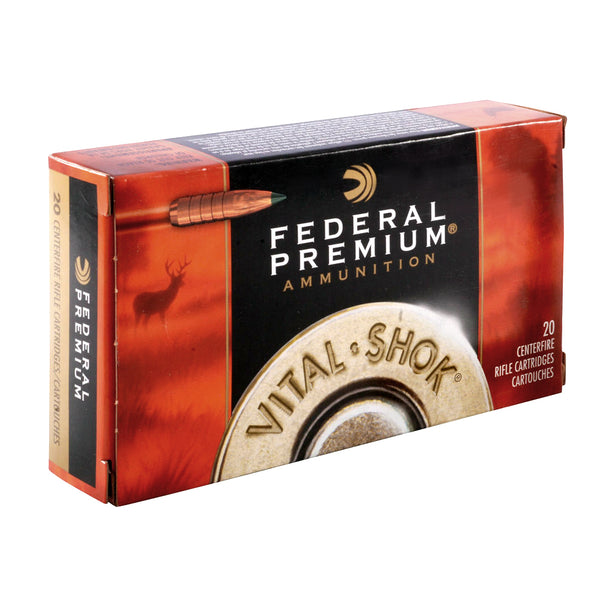 FEDERAL Vital-Shok 270 Win. 130 Grain Trophy Copper Ammo, 20 Round Box (P270TC1)
