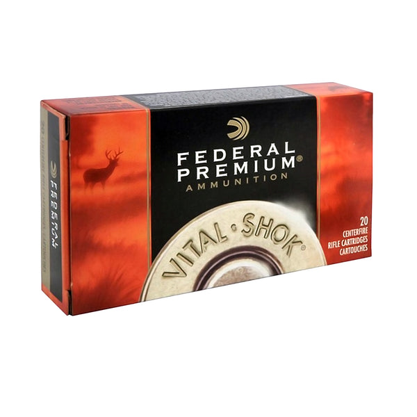 FEDERAL Vital-Shok 300 WSM 180 Grain Trophy Copper Ammo, 20 Round Box (P300WSMTC1)