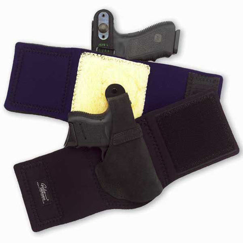 GALCO Ankle Lite, Ankle Holster, Right Hand, Black, Glk 26,27,33 (AL286)