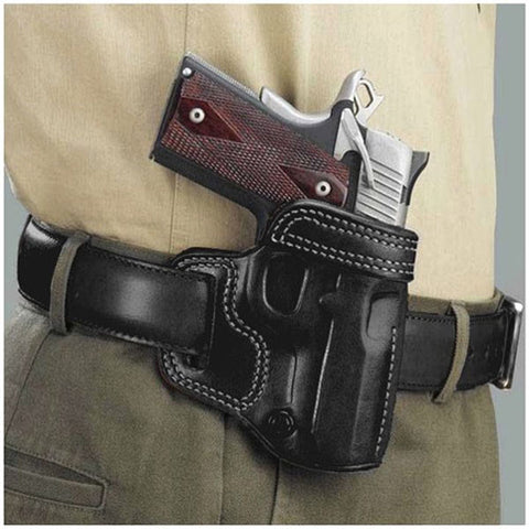 GALCO Avenger Belt Holster, Right Hand, Black, 5 in., 1911 (AV212B)