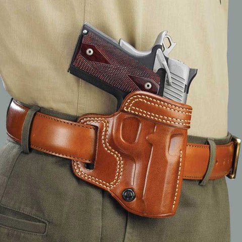 GALCO Avenger Holster, Right Hand, Tan, 5 in. Colt Govt (AV212)
