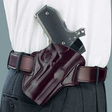 GALCO Concealable Glock 29,30 Right Hand Leather Belt Holster (CON298H)