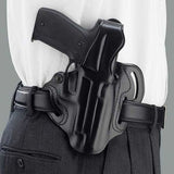 GALCO COP Ruger P85,P89,P90 3 Slot Right Hand Leather Belt Holster (CTS438B)
