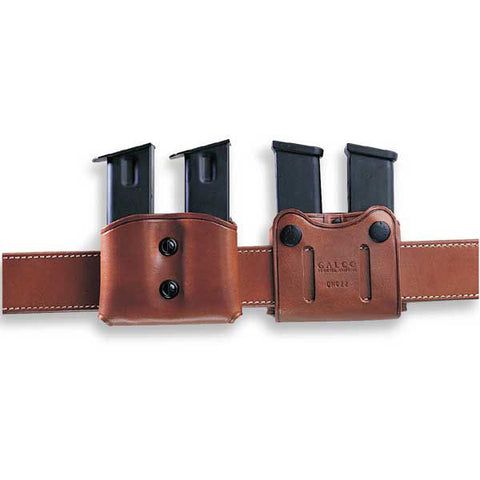 GALCO DMC Pouch, Ambidextrous, Tan, Double Stack Mags (DMC28)