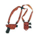 GALCO Miami Classic II Shoulder Holster, Right Hand, Tan, Glock 17, 22, 31 (MCII224)