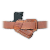 GALCO Small of Back S&W J Frame Right Hand Leather Belt Holster (SOB158)