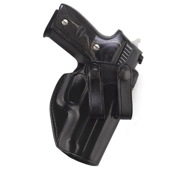 GALCO Summer Comfort Holster, Right Hand, Black, Glock 26, 27 w/Crimson Trace LaserGuard (SUM494B)