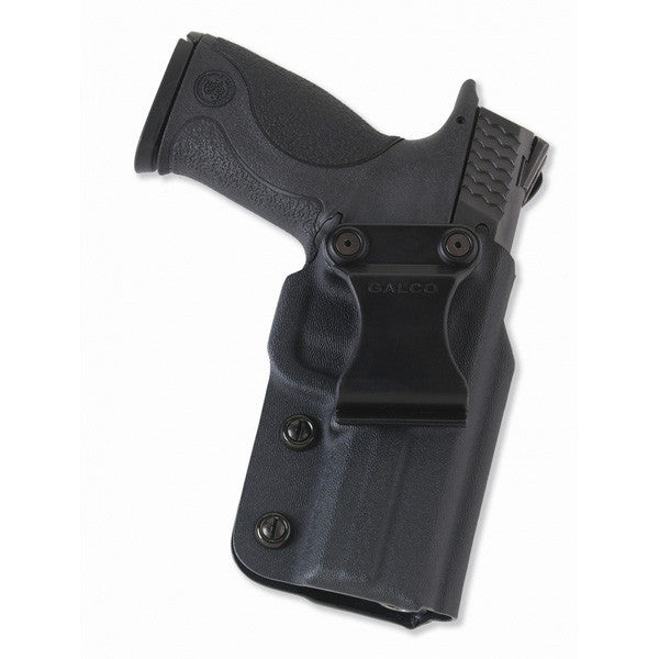 GALCO Triton Kydex IWB Holster, RH, Black, Ruger LCP, Kel-Tex P32/P3AT (TR436)