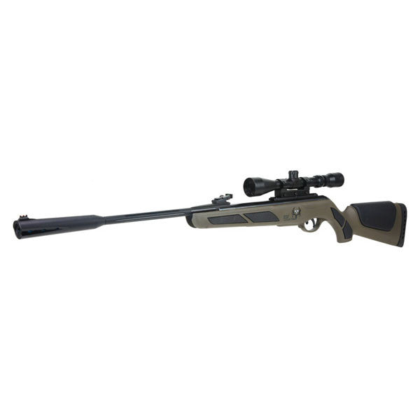 GAMO Bone Collector Air Rifle, 22PEL, 950fps, Green Synthetic w/3-9x40 Scope (611006715554)