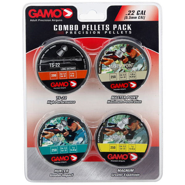 GAMO Combo Pack 22PEL Performance Pellets (63209275554)
