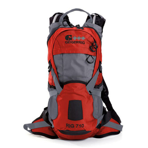 GEIGERRIG Rig 710 Hydration Pack, Orange Gunmetal (G4-710-ORGM)