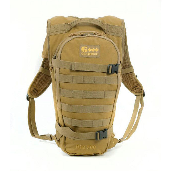 GEIGERRIG Tactical 700 Hydration Pack, Coyote (G5-700TAC-CY)
