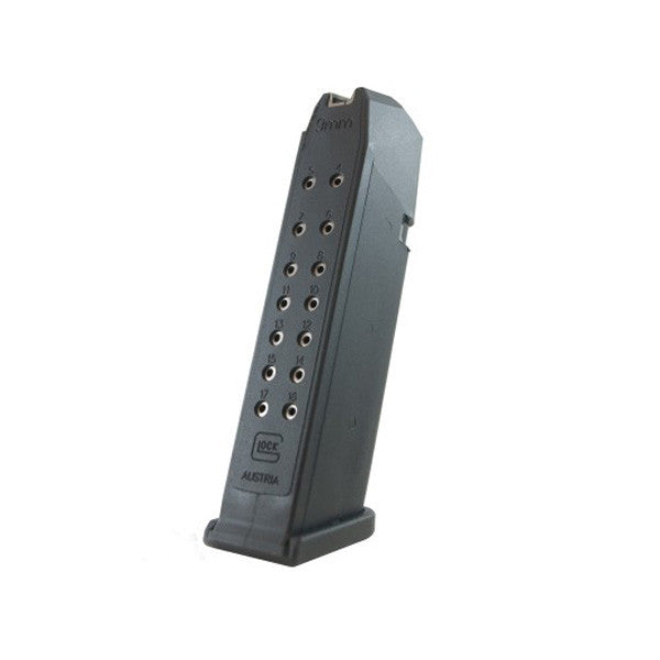 GLOCK G17 Magazine, 9mm, 17 Rd (MF17017)