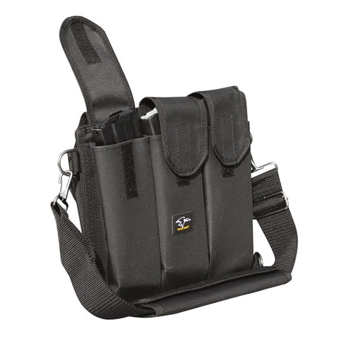 GALATI 30-40 Rd 6 Pocket Black Shoulder Mag Pouch Bandolier (GLMP40)