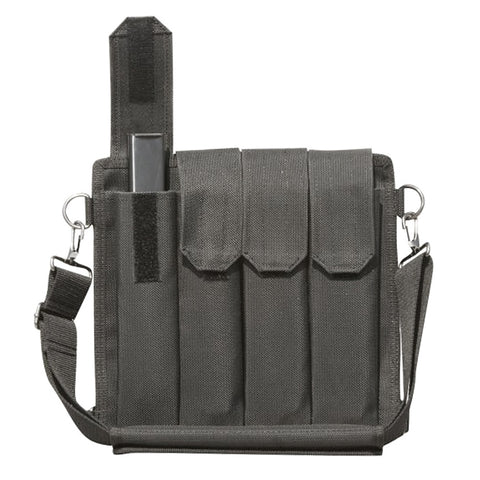 GALATI 9mm 8 Pocket Black Shoulder Mag Pouch Bandolier (GLMP9)