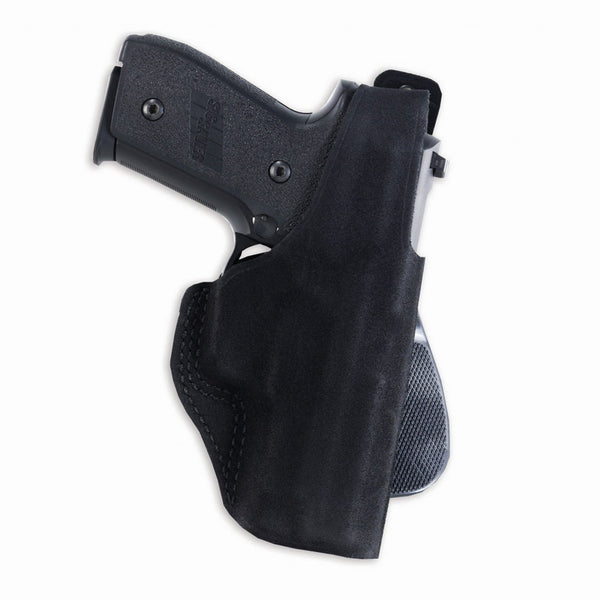 GALCO Paddle Lite Ruger LCP with Viridian Laser Right Hand Leather Paddle  Holster (PDL668B)
