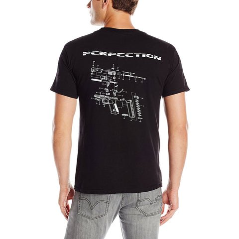 GLOCK OEM Breakdown Black T-Shirt (GA10067-P)