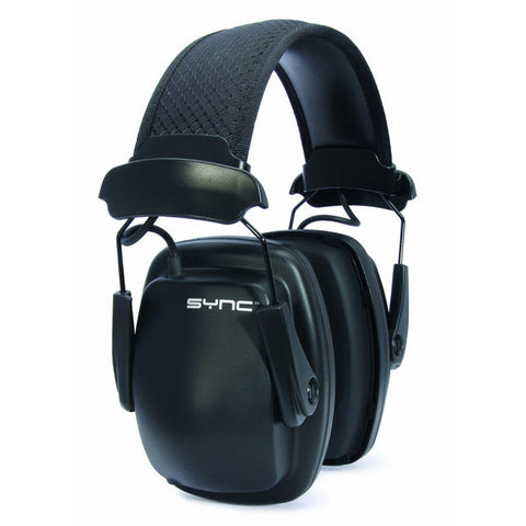 HOWARD LEIGHT Sync Noise-Blocking  Stereo Earmuffs, Black (1030110)