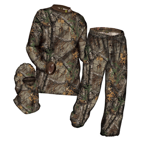 HECS 3 Piece Suit S Size Realtree Xtra Pant/Shirt and Head Cover (106RTX15)