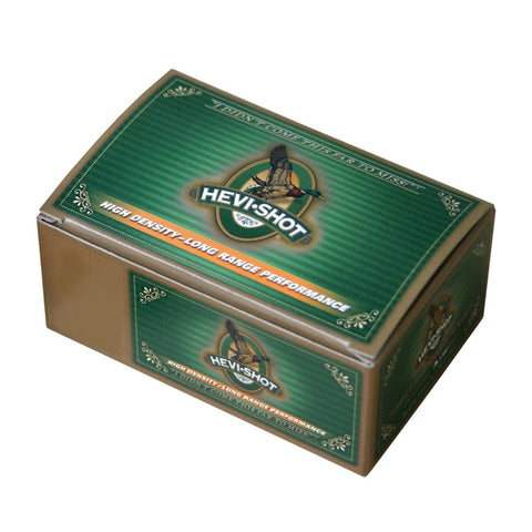 HEVISHOT Hevi-Shot Duck 12ga 2.75in 1-1/4 oz 6 Shot 10 Box/10 Case Shotshells (42326)