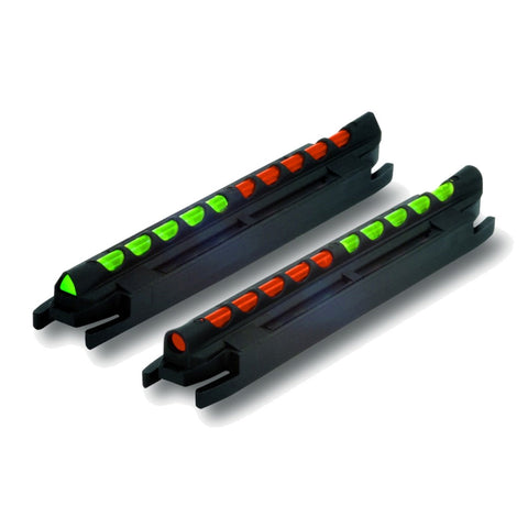 HIVIZ Two-In-One Front .218in-.328in Combine Green-Orange Magnetic Rib Shotgun Sight (TO300)