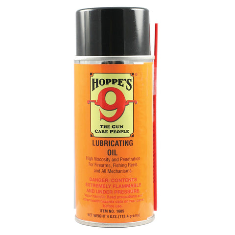 HOPPE'S No. 9 4oz Aerosol Lubricating Oil (1605)