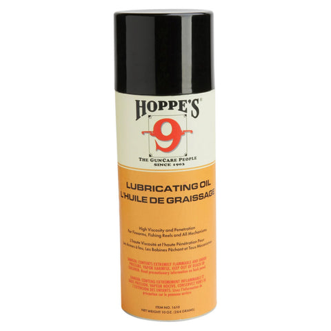 HOPPE'S No. 9 10oz Aerosol Lubricating Oil (1610)