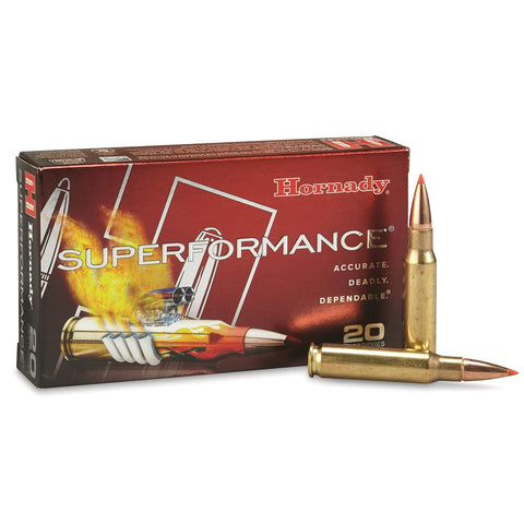 HORNADY Superformance 308 Win 165Gr SST Rifle Ammo (80983)