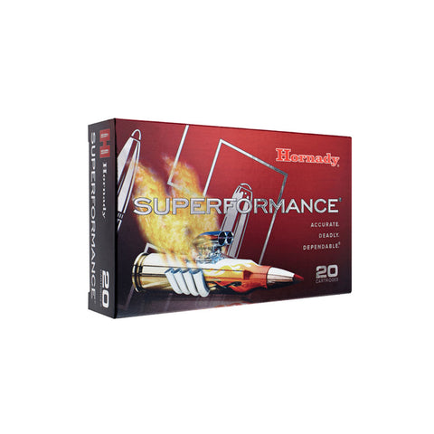HORNADY Superformance 6mm Remington 95Gr SST 20Rd Box Ammo (81663)
