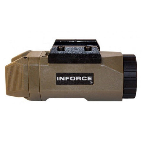 INFORCE APL Auto Pistol Light, White LED, 200 Lumens, Flat Dark Earth (APL-F-W)