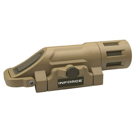 INFORCE WML Weapon Mounted Light, White LED, 200 Lumens, Flat Dark Earth (INF-WML-F-W)