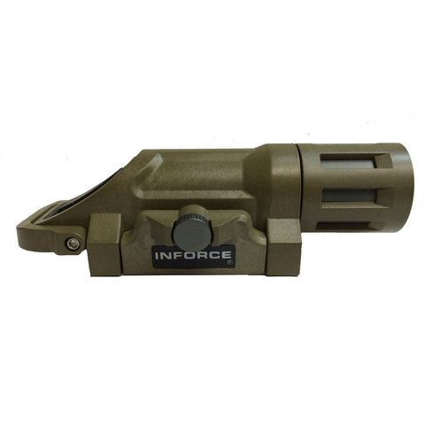 INFORCE WML Weapon Mounted Momentary Light, Color: Coyote, White LED  (WML-S-W-M)