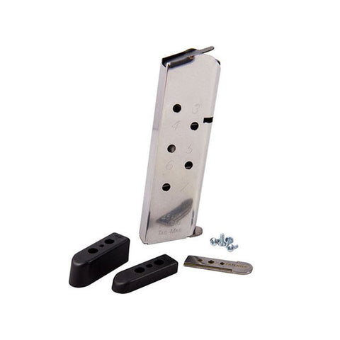 KIMBER KimPro Tac-Mag 1911 .45 ACP 7 Rd Magazine, Stainless (1100720A)