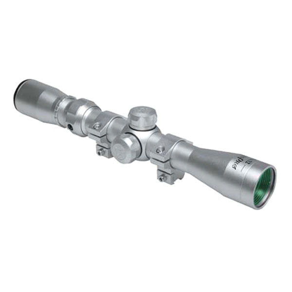 KONUS Konuspro 2-7x32 Rifle Scope, 30/30 Reticle, Silver (7261)
