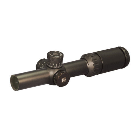 KRUGER TacDriver T4i 1-4x24 Rifle Scope, CQR Reticle, 30mm (63341)