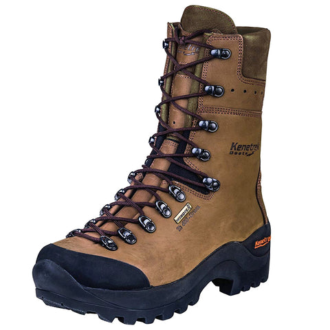 KENETREK Mountain Guide Non-Insulated Brown Hunting Boot (KE-425-GNI)