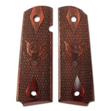 KIMBER 1911 Full Size US Army Emblem Rosewood Grips (4100067)