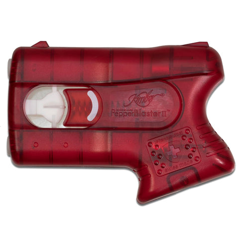 KIMBER PepperBlaster II Red Pepper Spray in Clear Clamshell (LA98021)