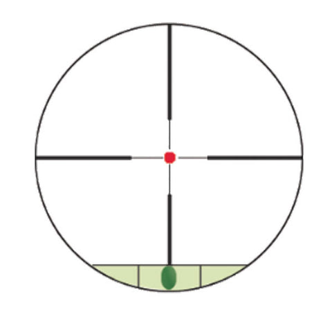 KONUS Konuspro M30 1.5-6x44 Rifle Scope, Illuminated 30/30 Reticle (7285)