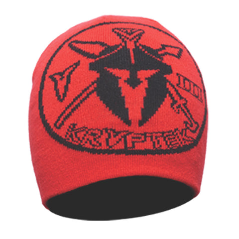 KRYPTEK Unit Patch Red Beanie 18UNIHRE
