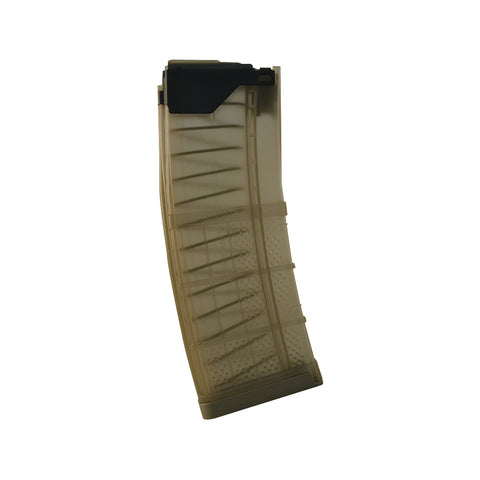 LANCER L5 Advanced Warfighter Magazine,  30 Round 5.56, Translucent Dark Earth (999-000-2320-13)