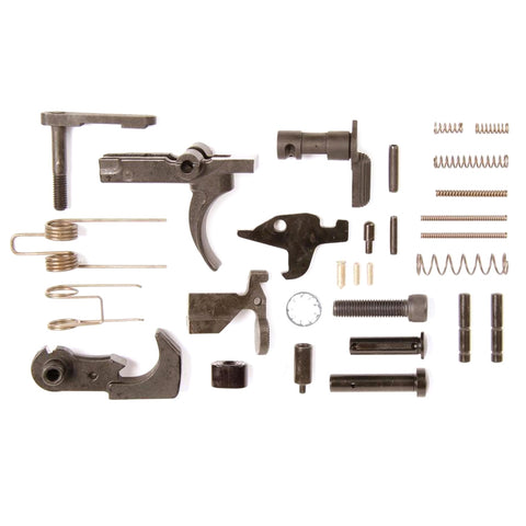 LBE UNLIMITED AR15 Lower Parts Kit without Trigger Guard or Pistol Grip (ARK15LPK)