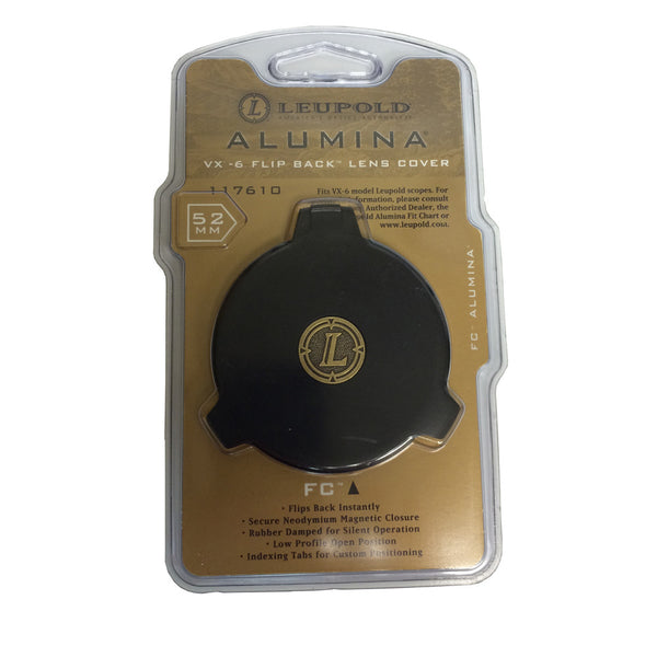 LEUPOLD Alumina 52mm VX-6 Flip Back Lens Cover 117610