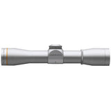 LEUPOLD FX-II 4x28 Handgun Scope, Duplex Reticle, Silver (58760)