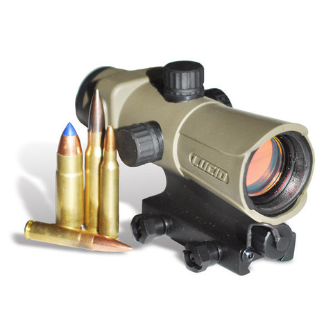 LUCID HD7 Red Dot Sight, Gen III, Tan (HD7-TAN)