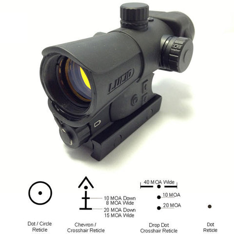 LUCID HD7 Red Dot Sight, Gen III (HD7)