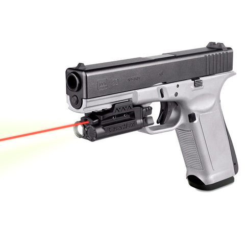 LASERMAX Spartan Rail Mounted Red Laser/Light Combo (SPS-C-R)