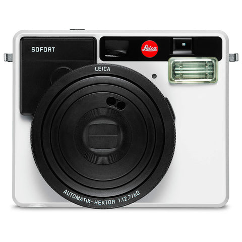 LEICA Sofort White Instant Film Camera 19100